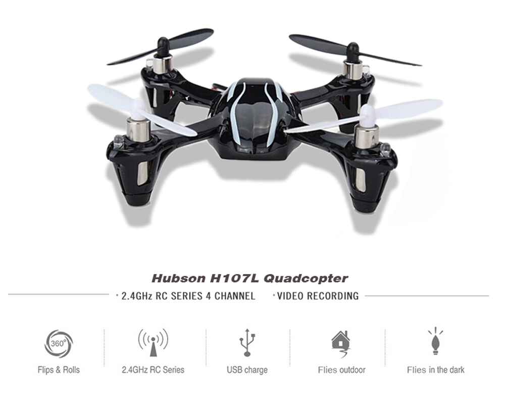 Original Hubsan X4 H107L Mini Drones 2.4G 4CH RC Quadcopter Helicopter RTF With Led Light Remote Control Quadrocopter цена 2017