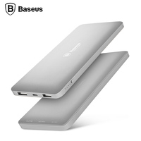 BASEUS 10000mAh Power Bank Portable Power Bank Dual USB For IPhone IPad Other Smartphone For IPhone