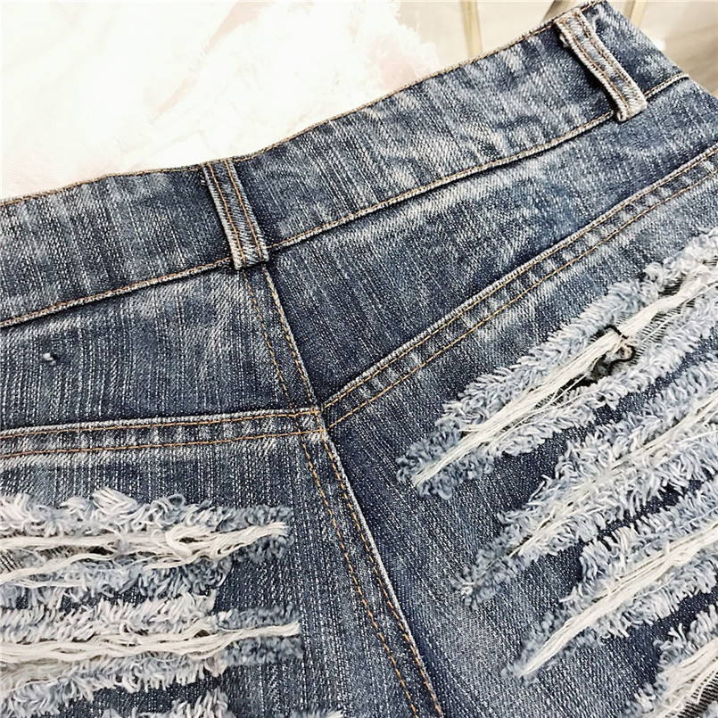 Hot New Style Summer Sexy Women Cool Hole Denim Jeans Fashion Hole Pockets Mini Shorts Jean For Women Girls 40MA07 (24)