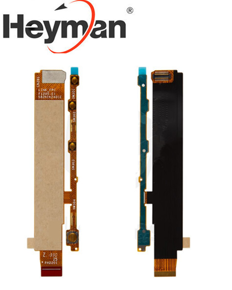 Heyman Flex Cable Phone Power Switch For Sony M C1904 C1905 C2004 C2005 Dual Start Button Flat Cable  Replacement Parts