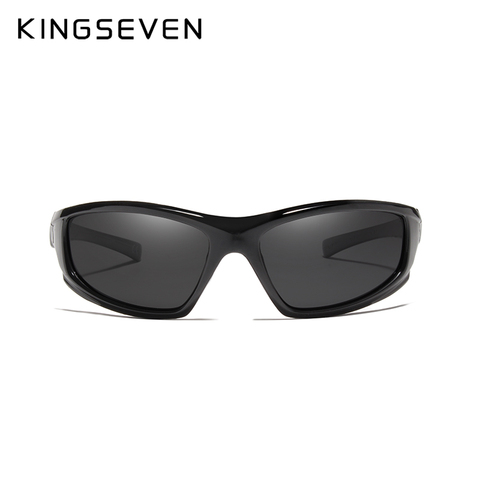 KINGSEVEN DESIGN Sunglasses Men Driving Male Polarized Sunglasses Vintage Frame Eyewear Oculos Gafas UV400 Goggle Karachi