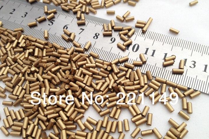 2.2mm * 5mm environ 7900 pièces/PP sac (1 KG). pierre de Flints dorés de haute qualité, accessoires de Flints plus légers. outils de Camping en plein air. - 6