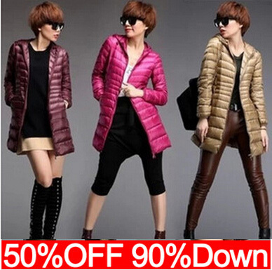 New 2015 High Quality Fashion Designer autumn Winter European Women Long Down Parkas 90% Duck Down Jacket Women Coat N437 new arrival 2018 winter europe fashion women s duck down coat