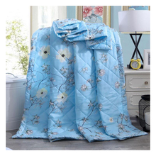 New pure cotton summer cool quilt thin duvert air conditioning quilt washable summer quilt soft comfortable bed quilt
