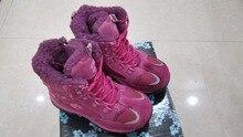 -30 градусов Обувь для девочек зимняя обувь Дети Водонепроницаемый Зимние сапоги из натуральной кожи некоторые недостатки так низкая цена продажи
