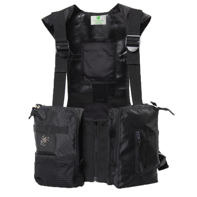 Spring and summer hunting Multi-pocke ice-hi fishing vest can be equipped Cooling ice pack insulation warm paste insulation vest