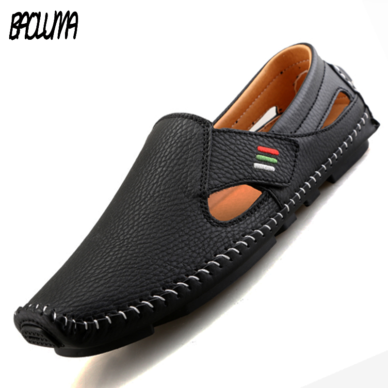 Summer Mens Shoes Slip-on Men Moccasins Men Loafers Summer Walking Breathable Casual Shoes Men Driving Boats Men Shoes Flats bimuduiyu new fashion mens shoes spring summer breathable quality casual shoes slip on mens loafers designers moccasins men shoe