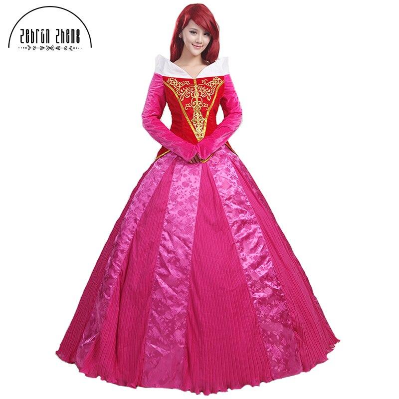 Nieuwe aankomst Doornroosje Prinses Aurora Cosplay Kostuum voor - Carnavalskostuums - Foto 1