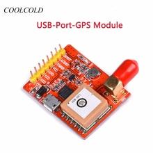 USB-GPS-конвертер USB-порт-GPS-модуль для малинового пирога Малина Pi 3 модель A / B / A + / B + / Zero / 2/3 с антенной