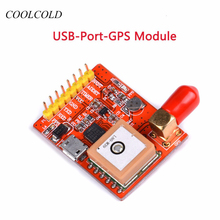 Discount! USB to GPS Converter USB-Port-GPS Module For Raspberry pie Raspberry Pi 3 model A /B/ A+ /B+ /Zero/ 2 /3 With Antenna
