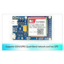 SIM808 GPS GSM GPRS Модуль Bluetooth Quad-band Li-on Батареи NEMA Протокола SIM Карты для Arduino FZ1454