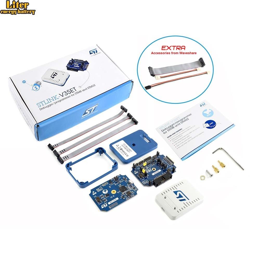 Original STLINK-V3SET, Modular In-circuit Debugger And Programmer For STM32/STM8 ,provides A Virtual COM Port Interface
