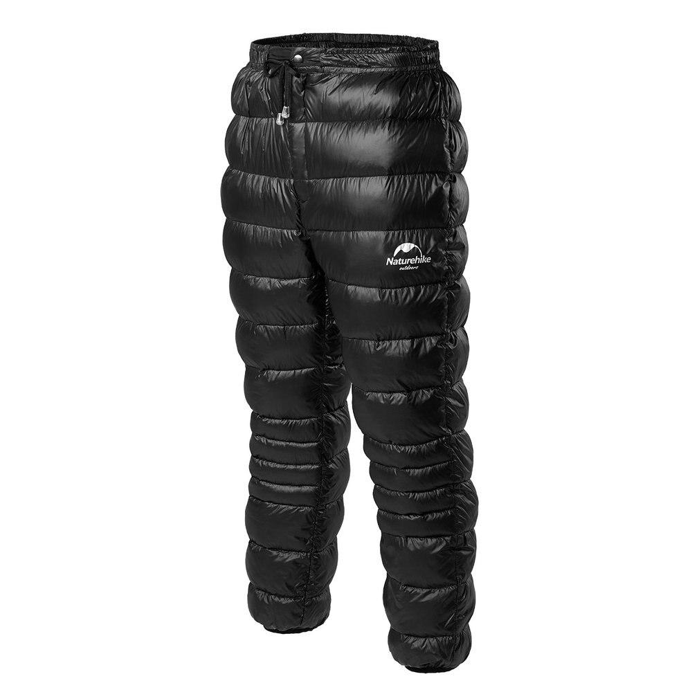 Naturehike Outdoor Down Pants Waterproof Wear Men And Women Mountaineering Camping Warm Winter White Goose Down Pants