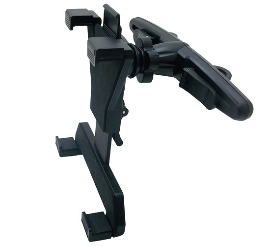 360D Rotation Universal 6-10 inch Mobile Phone Tablet Netbook GPS Holder Stand Car Seat Back Pillow Headrest Mount Holder Hold