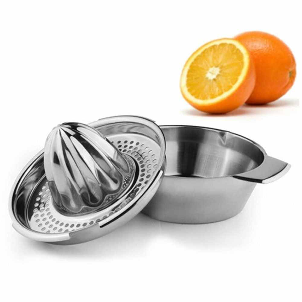 Stainless Steel Hand Press Squeezer Fruit Vegetable Orange Lemon Juice Reamers Juicer Tools