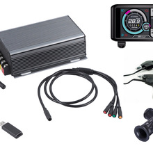 Bluetooth-Adapter Electric-Bike-Controller 8000w-Motor Display TFT 150a 36v-72v Sine-Wave-System