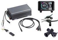 TFT display 36v 72v 150a 8000w motor electric bike controller sine wave system Bluetooth Adapter Included