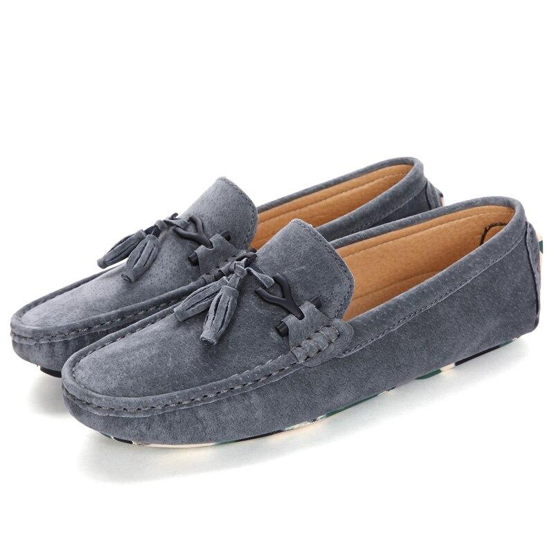 Barco gray Casuais Couro Borla Designer Jkpudun Alta De Dos 2017 Luxo Italianos khaki Homens Qualidade Marca Black Camuflagem Sapatos Mocassins 1H1zwtx7q