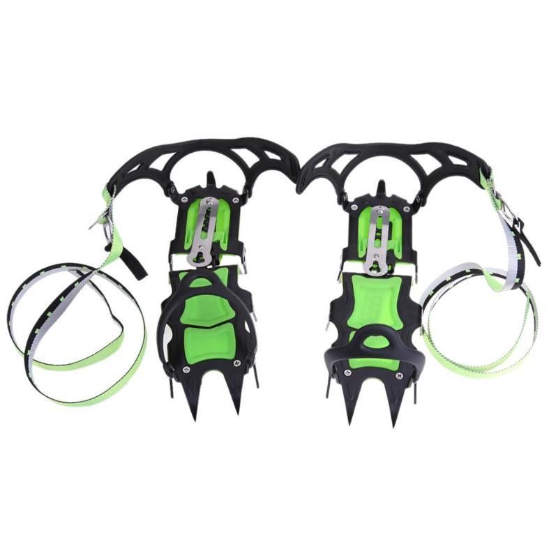 Fourteen Teeth Mountaineering Equipment Climbing Gear Hiking Boots Crampons Professional Ice Axe Ice Grippers