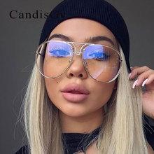 Новое поступление женские брендовые дизайнерские прозрачные мужские авиационные солнцезащитные очки es Oversize уникальные прозрачные красные женские солнцезащитные очки Sol