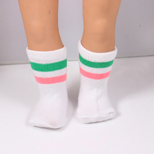Free shipping Hot new style popular 2017 yards American girl doll socks DS29
