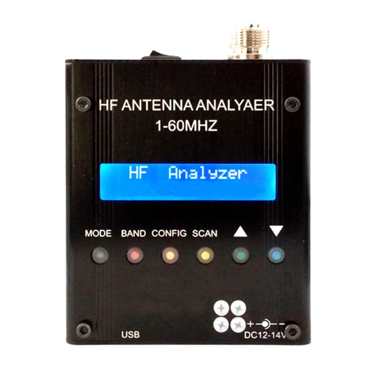 Jiguoor Разделение-core Тип метр MR300 Высокая точность цифровой коротковолновые антенны Анализатор метр тестер 1-60 м для радиолюбителей
