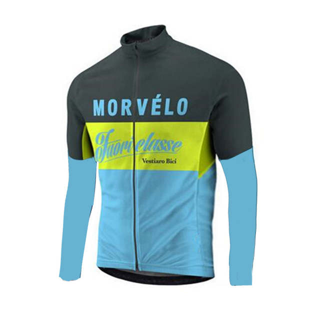 placeholder 2018 spring autumn Morvelo Classic cycling jersey for men Road  bike cycling wear Maillot Ciclismo a97d5c9ef