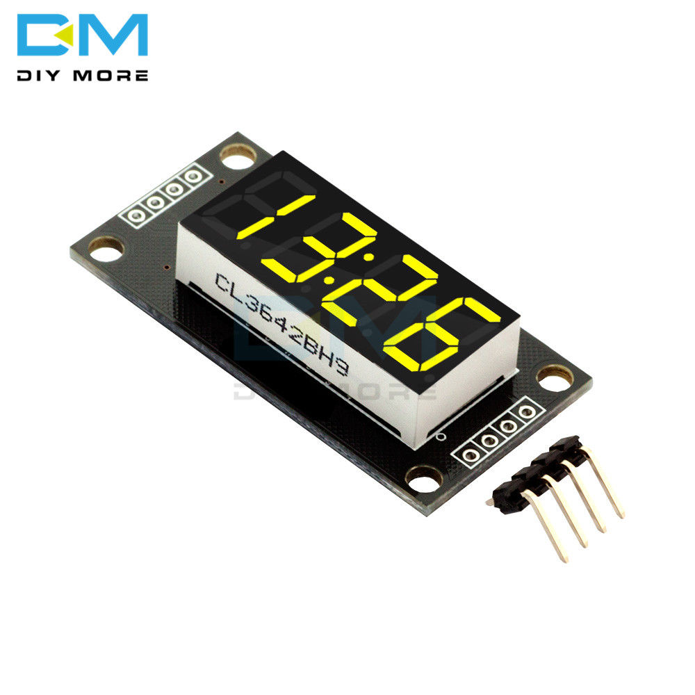 4-digit 7 Segments Display Module Yellow LED 0.36