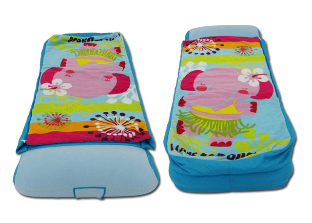 Colchón inflable para niños cama Individual saco de dormir