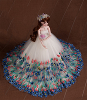 Лидер продаж полный набор SuDoll BJD 1/3 красивая невеста Бесплатная глаза парик одежда все включено ПВХ игрушки куклы