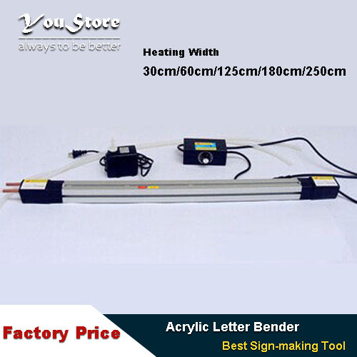 Acrylic letter Hot-bending Machine Plexiglass PVC Plastic board advertising channel bender 250cm  цены
