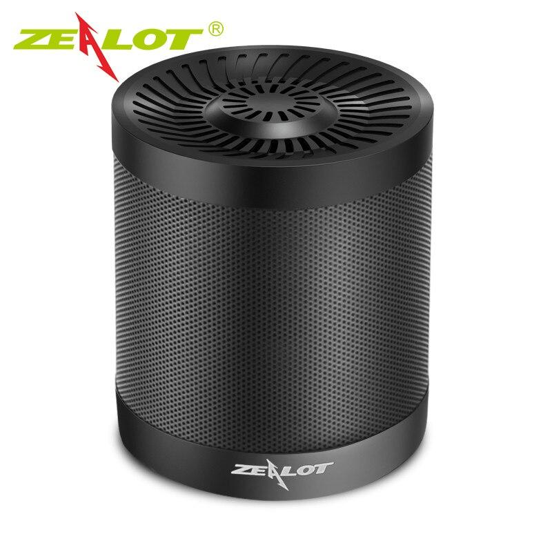 ZEALOT S5 Portable Mini Speaker Support Micro SD Card AUX Udendørs Trådløs Bluetooth 4.0 Højttalere Aktiv 3D Music Box Subwoofer