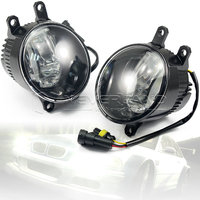 2pcs Super Bright Car Styling Universal LED Daytime Running Lights Fog Lamp Bulb DRL White Wholesale