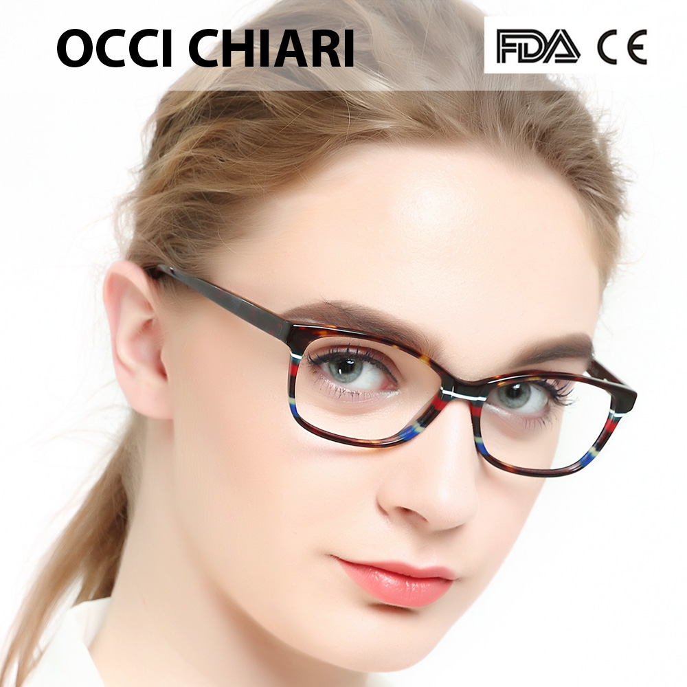 9cb73b0298 OCCI CHIARI 2018 Fashion Brand Computer Anti blue Light Women Myopia ...