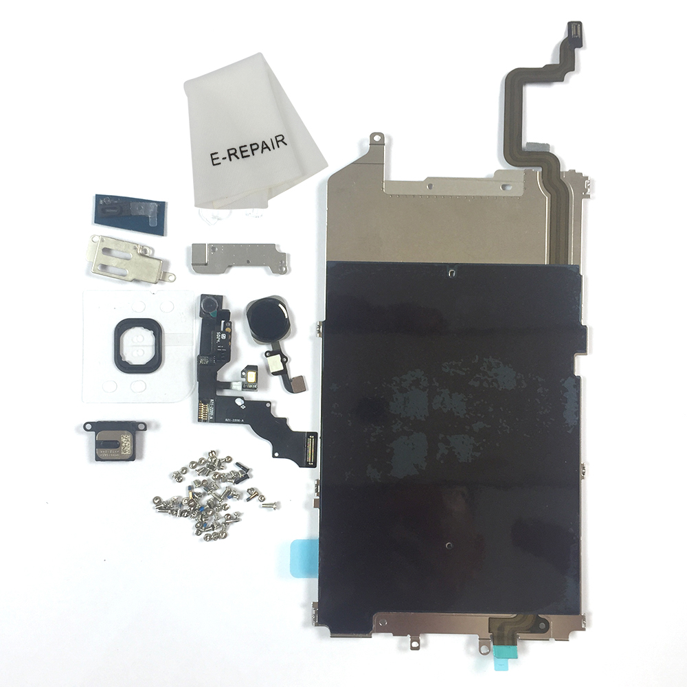 E-REPAIR Screen Metal Bracket Front Camera Flex Cable Small Parts Full Set Replacement For iPhone 6 Plus