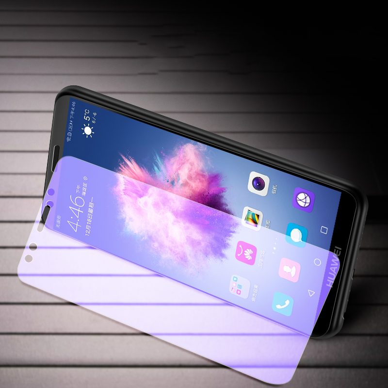 Suntaiho 3D full cover Tempered Glass for Huawei Nova 3E P20 pro Huawei P9 P10 plus Anti Blue Light Glass film Protective Glass