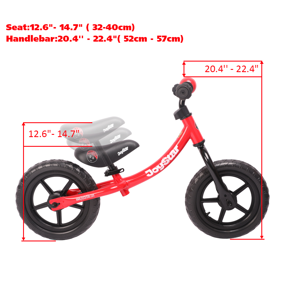 HTB1UH92XU rK1Rjy0Fcq6zEvVXah Joystar 12 Inch Balance Bike Ultralight Kids Riding Bicycle 1-3 Years Kids Learn to Ride Sports Balance Bike Ride on Toys