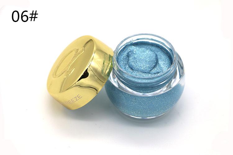 Love Alpha Single Color Eye Shadow Gel Eyes Makeup Glitter Nude Eyeshadow 16 Color EyeShadow Palette Shining Bright Brand Makeup (9)