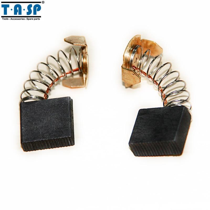 TASP Carbon Brushes 7x18x16mm 5 Pair For Makita Electric Motors CB203 CB 203