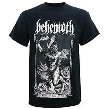 Behemoth Мужская футболка с о папой черная футболка с принтом Мужская хлопковая футболка стиль мода Топ Футболка для мужчин s плюс размер