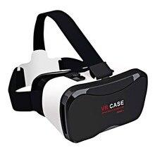 """2016มืออาชีพVRกรณี5พลัสชุดหูฟังความจริงเสมือนGooggleกระดาษแข็งVR BOX 3Dแว่นตาสำหรับ4.0-6.3 """"โทรศัพท์"""