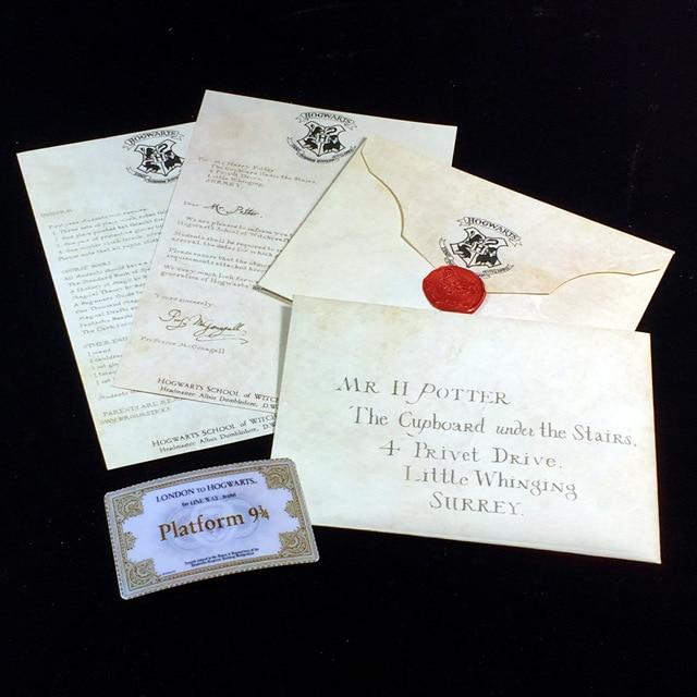 HOT Harry Potters Hogwarts Acceptance Letter Packa...