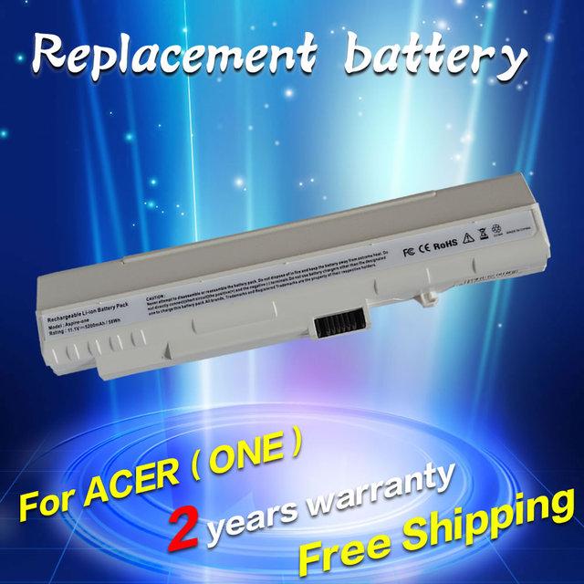 Jigu batería para acer aspire one a110 a150 d210 d150 d250 zg5 um08a31 um08a32 um08a51 um08a52 um08a71 um08a72 um08a73