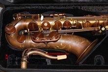 Ретро тенор саксофоны Selm Mark VI BB имитация состаренной меди тенор саксофон Professional level бас Saxofone, чехол, мундштук, коробка
