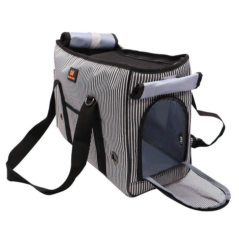Hot extérieur voyage sac à main pochette maille Oxford unique sac à bandoulière fronde maille confort voyage fourre-tout sac à bandoulière Pet chiot transporteur