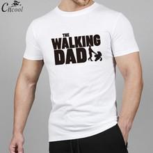 ФОТО cncool the walking dad t shirt 2018 man's streetwear t-shirt 4xl big size casual anime shirt fitness feelings short sleeve