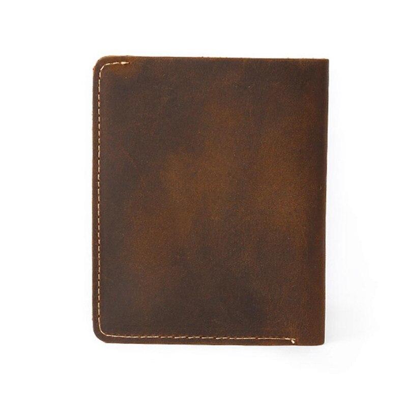 New Card holder Clutch Bifold Coin Purse Wallet Pockets Men Leather ID credit wallet men luxury brand GUBINTU wallet mens Lucky