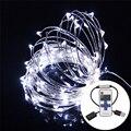 10 M LOS 33FT 100LED RGB LED Cadena RGB Impermeable Luz de Tira LLEVADA 5 V USB Cable De Cobre de Hadas Al Aire Libre de Interior Chrismas Decoración