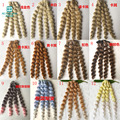 1pcs 25cm*100cm Doll accessories Wigs BJD/SD doll hair Wire Many colors curls