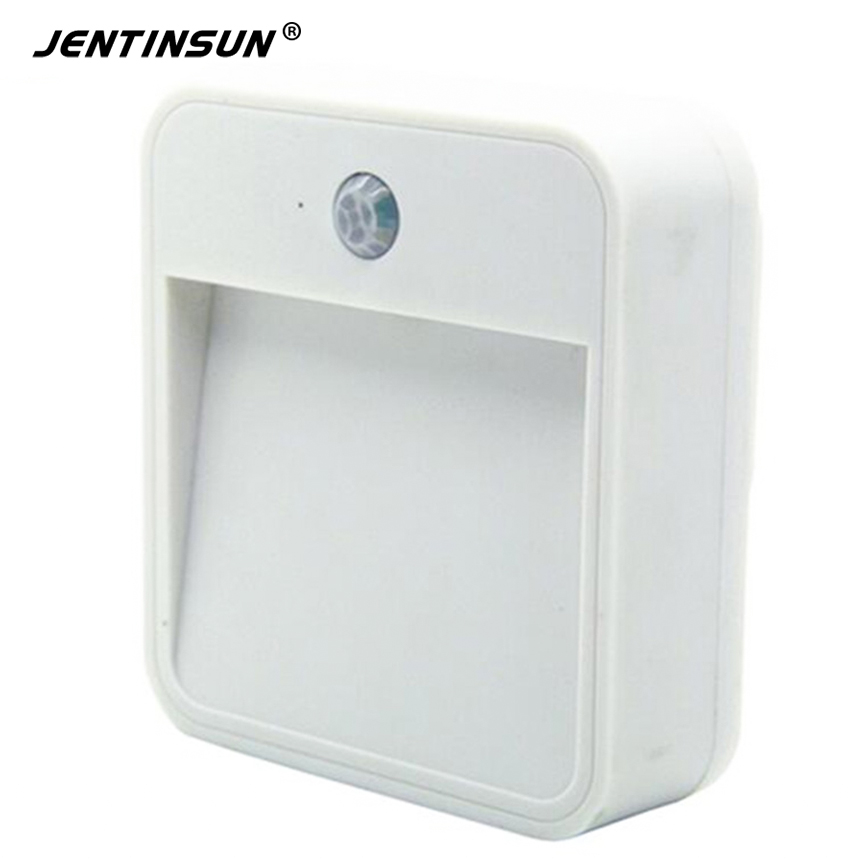 Lighting Basement Washroom Stairs: 1LED 10lumens Motion Sensor Night Light Mini Sensing White